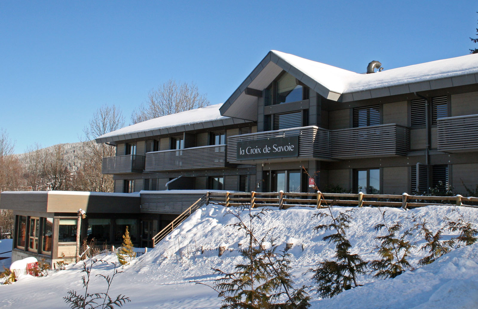 Hotel In The French Alps Les Carroz Flaine Grand Massif La