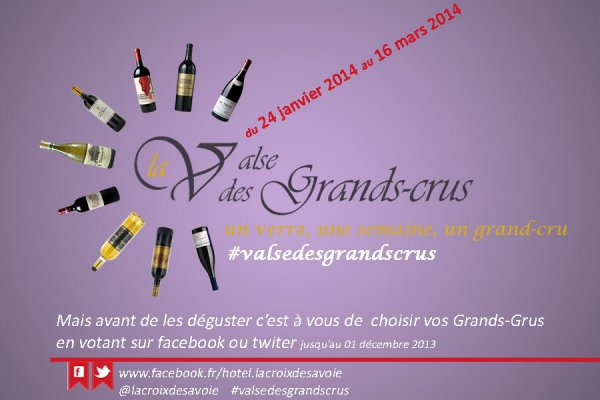 LA VALSE DES GRANDS-CRUS – A VOTE