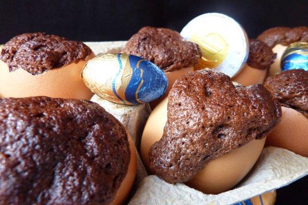 RECETTE D'EDWIGE TIRET / MUFFINS AU CHOCOLAT POUR PAQUES