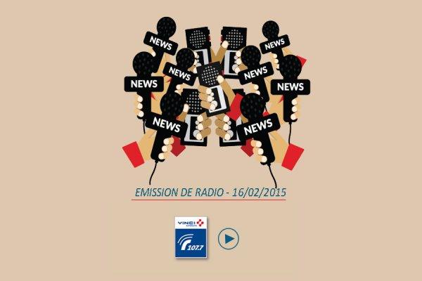 L'hôtel écologique La Croix de Savoie aux Carroz repond à Radio Vinci Autoroute