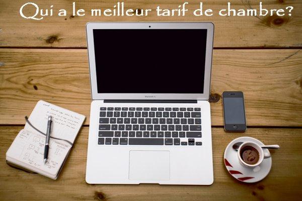 QUESTION DU JOUR : QUI A LE MEILLEUR TARIF D'HÔTEL SUR LE WEB ?