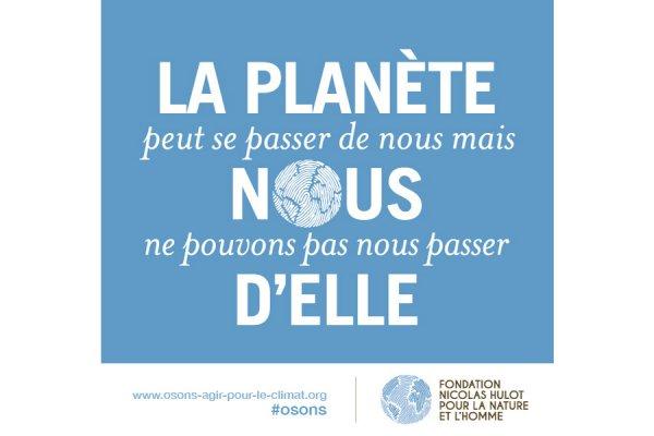COP 21 – La Croix de Savoie signe la pétition Nicolas HULOT