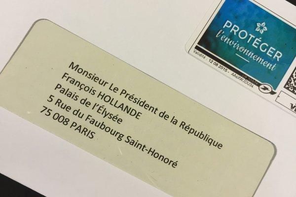 L'hôtel La Croix de Savoie écrit au Président François HOLLANDE pour la COP21
