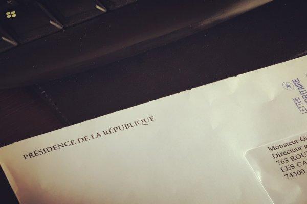 Réponse de François HOLLANDE à notre invitation