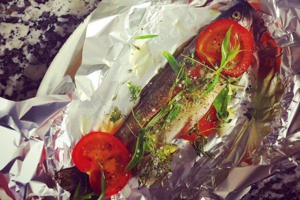 Des produits locaux et frais au déjeuner du restaurant La Croix de Savoie