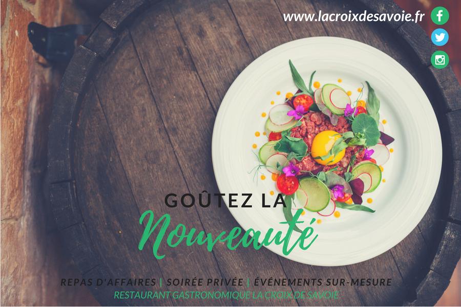 Repas d'affaires et soirée privée | Goûtez la nouveauté en Haute-Savoie