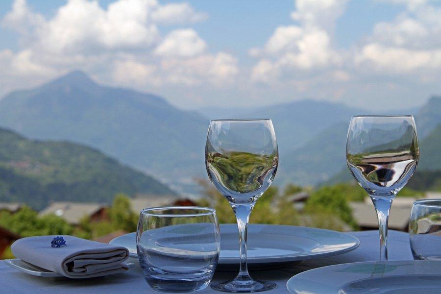 L'été et la nouvelle carte au restaurant Gastronomique | Haute-Savoie Les Carroz