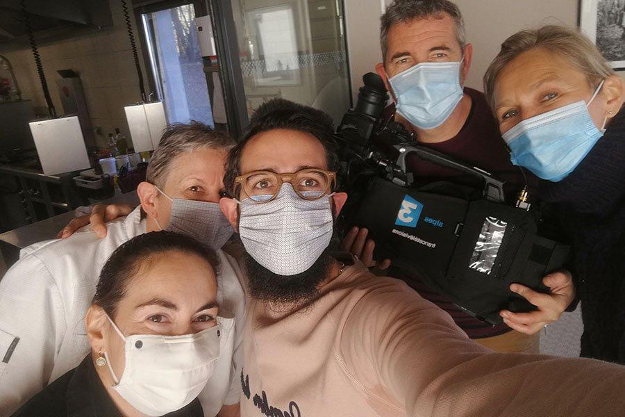 Reportage France 3 sur la situation de notre Maison de Famille durant cette crise sanitaire