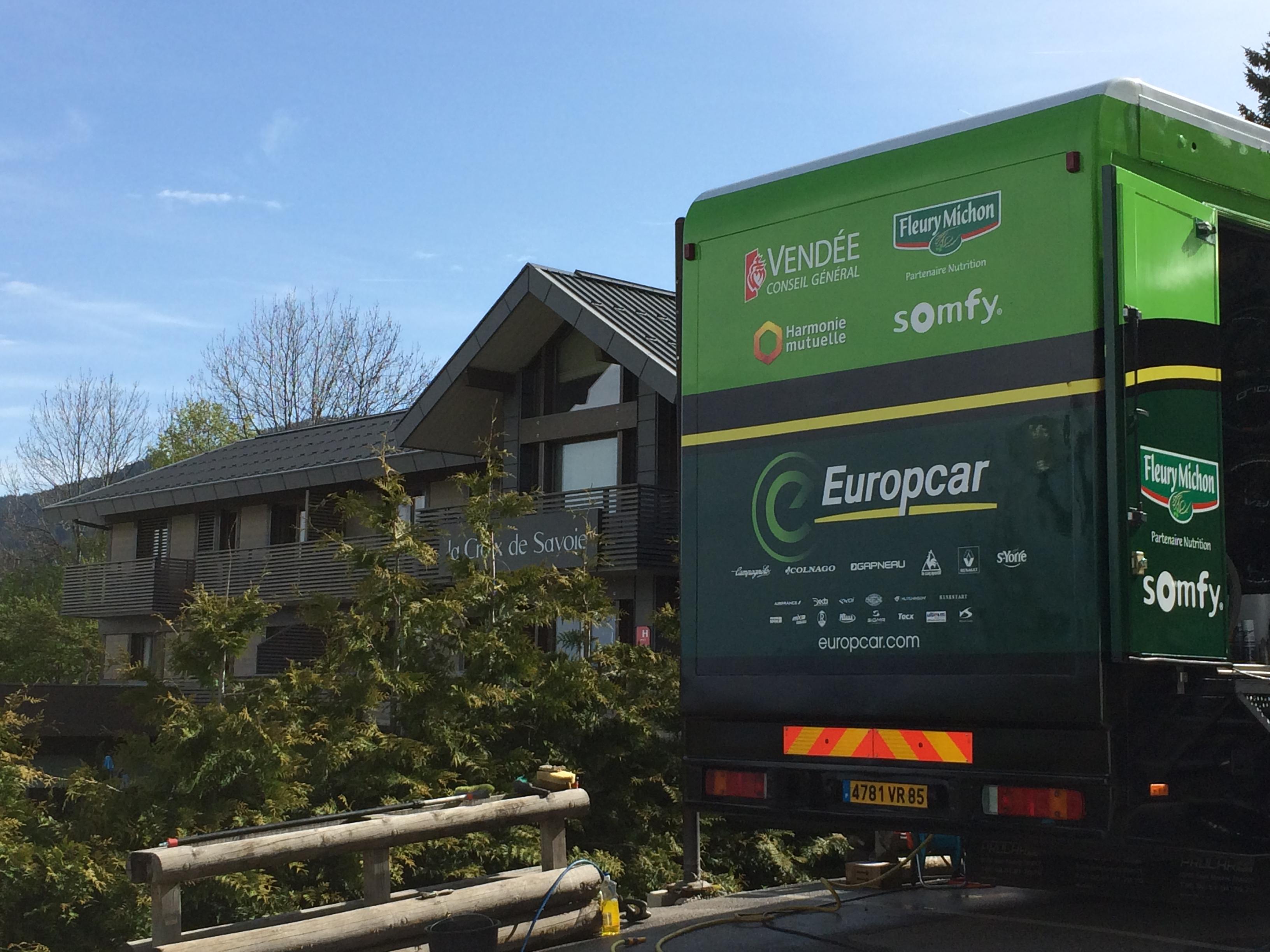 Team Europcar à la Croix de Savoie & SPA en 2014