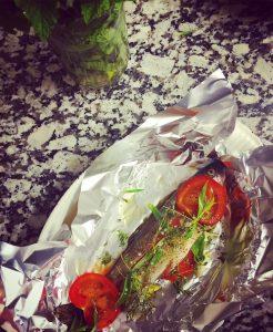 Poisson frais et fait maison  La Croix de Savoie restaurant Gatsronomique les carroz haute-savoie